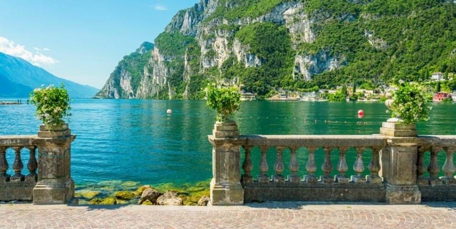 Relax and unwind looking out on Lake Garda